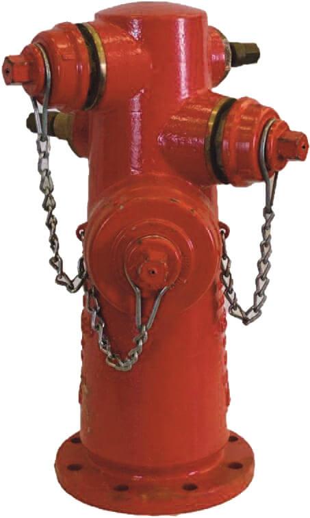 Hidrante Humedo boquilla de hierro d ctil