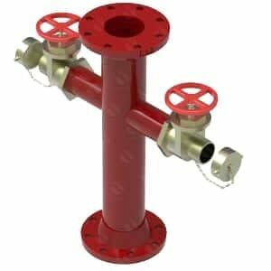 Hidrante monitor de 4 pulgadas