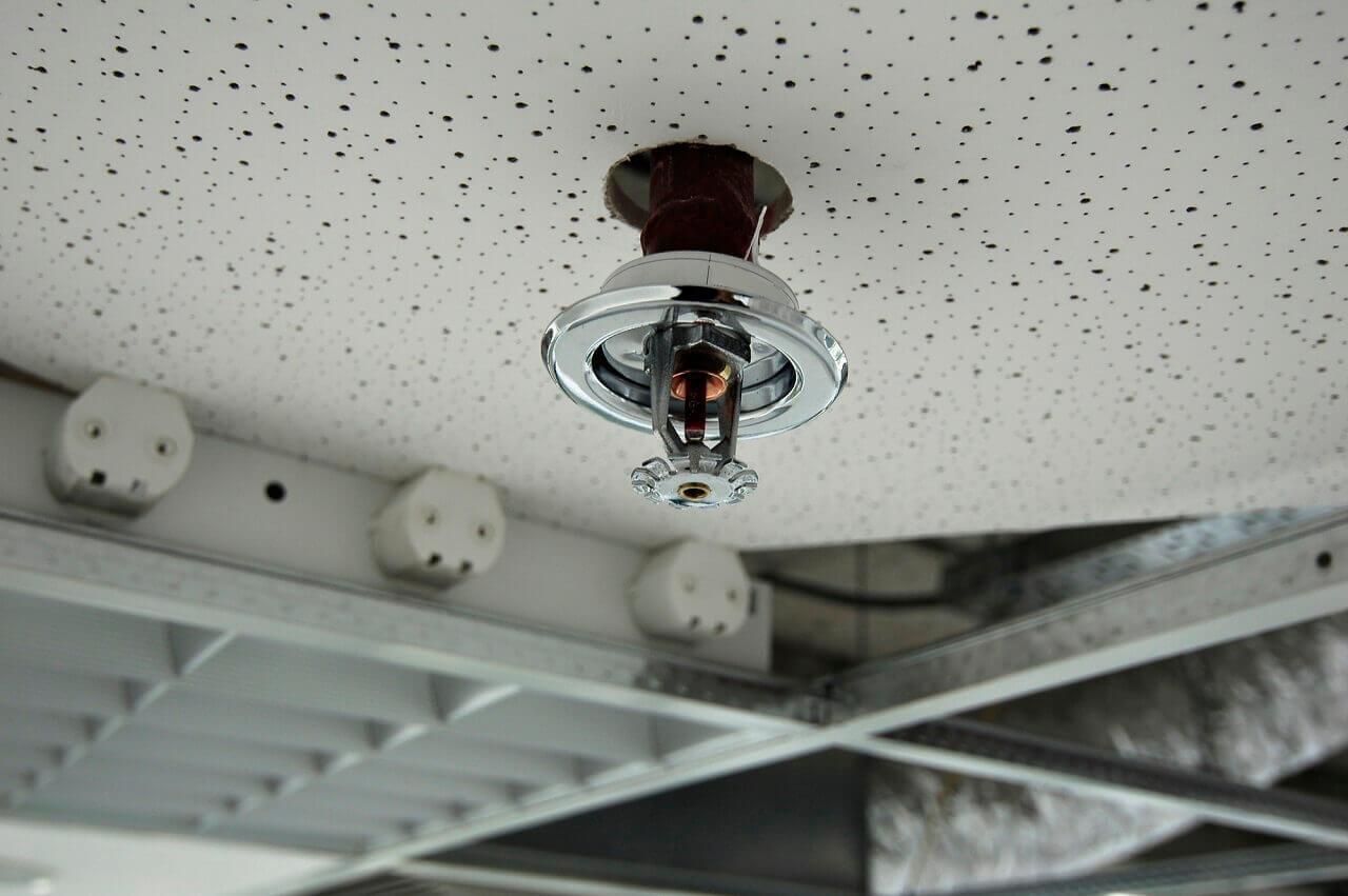 commercial fire sprinkler head maintenance