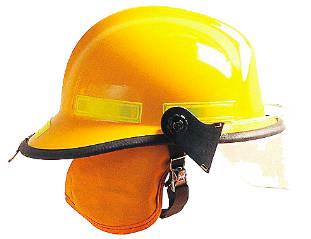 casco para bombero