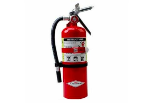 Amerex B402T – Extintor ABC de 5 lb (con soporte para vehículo)